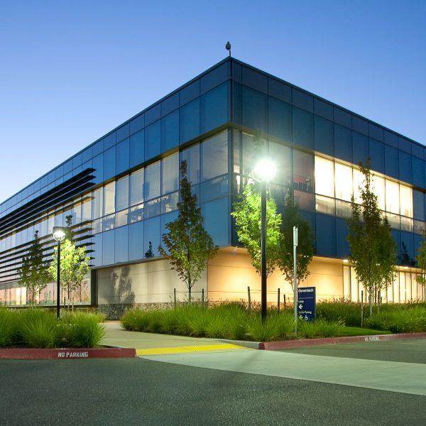 Genentech building in Hillsboro