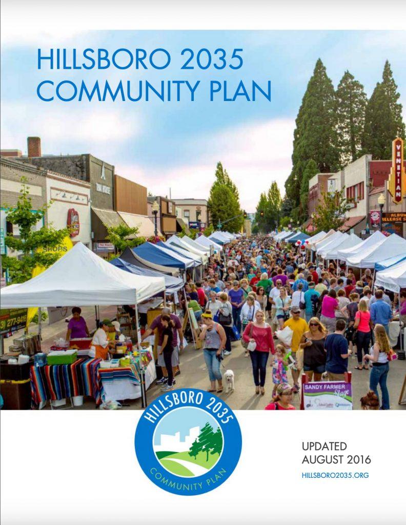 Hillsboro 2035 Community Plan2016