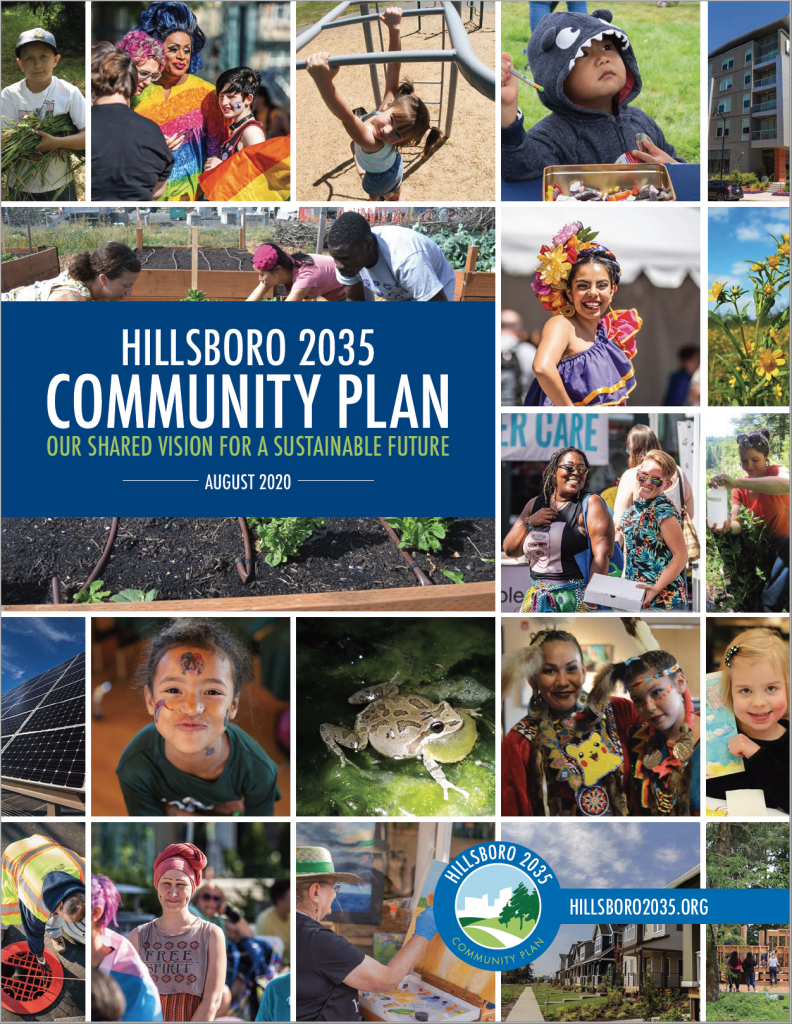 Hillsboro 2035 Community Plan - Cover